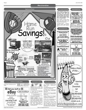 Greensheet (Dallas, Tex ), Vol  29, No  77, Ed  1 Friday