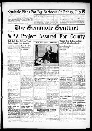 Primary view of object titled 'The Seminole Sentinel (Seminole, Tex.), Vol. 31, No. 17, Ed. 1 Thursday, June 23, 1938'.