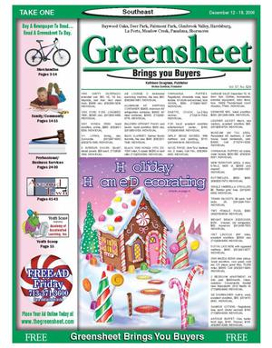 Primary view of object titled 'Greensheet (Houston, Tex.), Vol. 37, No. 529, Ed. 1 Tuesday, December 12, 2006'.
