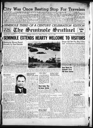 Primary view of object titled 'The Seminole Sentinel (Seminole, Tex.), Vol. 33, No. 18, Ed. 1 Thursday, June 13, 1940'.