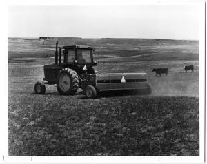Primary view of object titled 'John Deere Tractor Sod-Seeding'.