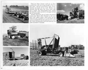 Primary view of object titled 'Five Photographs of Hay Balers'.