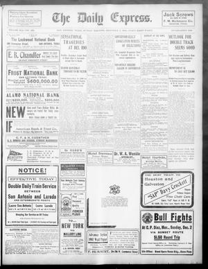 Primary view of object titled 'The Daily Express. (San Antonio, Tex.), Vol. 41, No. 336, Ed. 1 Sunday, December 2, 1906'.