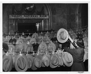 Primary view of object titled 'Cowboy Hats for Sale'.