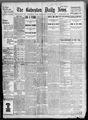 Primary view of object titled 'The Galveston Daily News. (Galveston, Tex.), Vol. 56, No. 147, Ed. 1 Wednesday, August 18, 1897'.