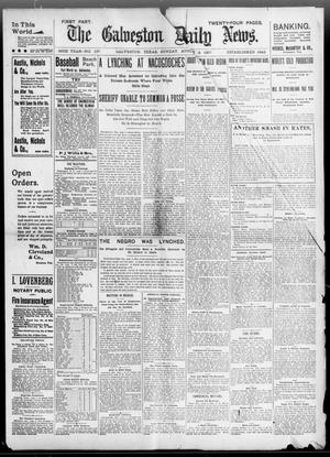 Primary view of object titled 'The Galveston Daily News. (Galveston, Tex.), Vol. 56, No. 137, Ed. 1 Sunday, August 8, 1897'.