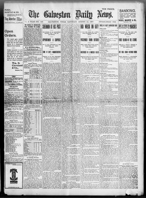 Primary view of object titled 'The Galveston Daily News. (Galveston, Tex.), Vol. 56, No. 143, Ed. 1 Saturday, August 14, 1897'.