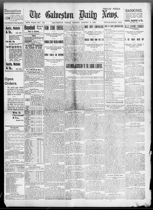 Primary view of object titled 'The Galveston Daily News. (Galveston, Tex.), Vol. 56, No. 135, Ed. 1 Friday, August 6, 1897'.