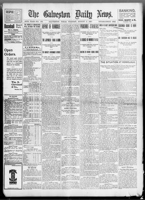 Primary view of object titled 'The Galveston Daily News. (Galveston, Tex.), Vol. 56, No. 132, Ed. 1 Tuesday, August 3, 1897'.