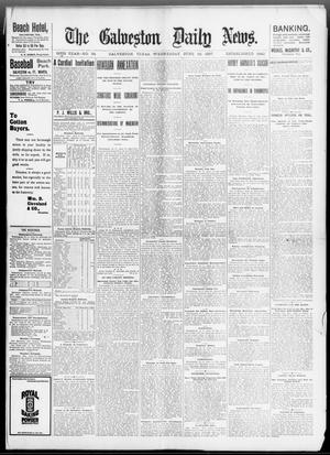 Primary view of object titled 'The Galveston Daily News. (Galveston, Tex.), Vol. 56, No. 84, Ed. 1 Wednesday, June 16, 1897'.