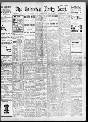 Primary view of object titled 'The Galveston Daily News. (Galveston, Tex.), Vol. 56, No. 70, Ed. 1 Wednesday, June 2, 1897'.
