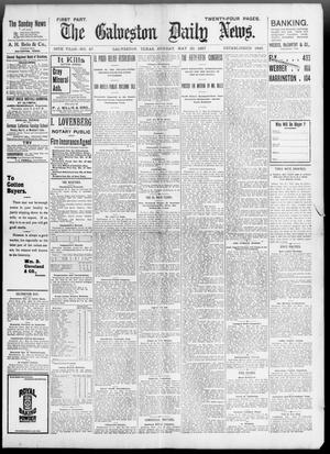 Primary view of object titled 'The Galveston Daily News. (Galveston, Tex.), Vol. 56, No. 67, Ed. 1 Sunday, May 30, 1897'.