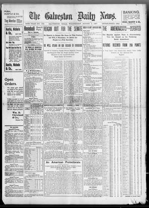 Primary view of object titled 'The Galveston Daily News. (Galveston, Tex.), Vol. 56, No. 133, Ed. 1 Wednesday, August 4, 1897'.