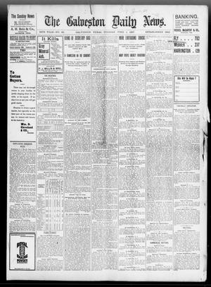 Primary view of object titled 'The Galveston Daily News. (Galveston, Tex.), Vol. 56, No. 69, Ed. 1 Tuesday, June 1, 1897'.