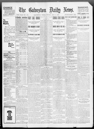 Primary view of object titled 'The Galveston Daily News. (Galveston, Tex.), Vol. 56, No. 100, Ed. 1 Friday, July 2, 1897'.