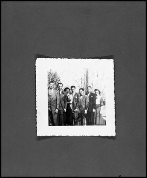 [Negative of Lerma Family Photo, 1953]