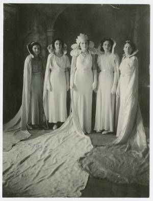 [Coronation of Easter Queen, 1934]