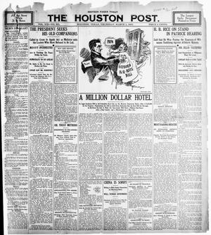 Primary view of object titled 'The Houston Post. (Houston, Tex.), Vol. 21, No. 351, Ed. 1 Thursday, March 1, 1906'.