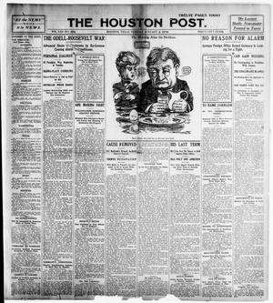 Primary view of object titled 'The Houston Post. (Houston, Tex.), Vol. 21, No. 293, Ed. 1 Tuesday, January 2, 1906'.
