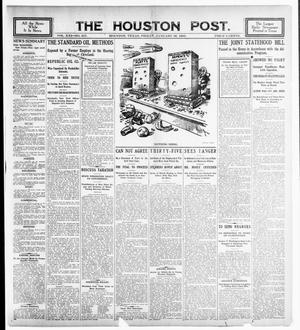 Primary view of object titled 'The Houston Post. (Houston, Tex.), Vol. 21, No. 317, Ed. 1 Friday, January 26, 1906'.