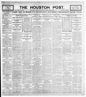 Primary view of object titled 'The Houston Post. (Houston, Tex.), Vol. 21, No. 325, Ed. 1 Saturday, February 3, 1906'.