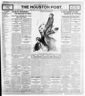 Primary view of object titled 'The Houston Post. (Houston, Tex.), Vol. 21, No. 340, Ed. 1 Sunday, February 18, 1906'.