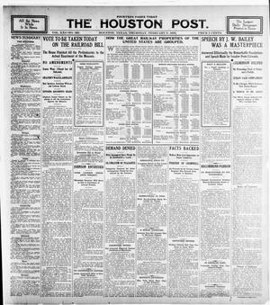 Primary view of object titled 'The Houston Post. (Houston, Tex.), Vol. 21, No. 330, Ed. 1 Thursday, February 8, 1906'.