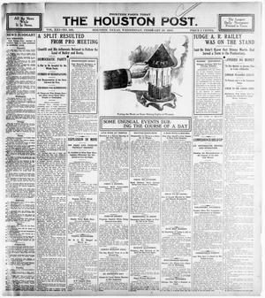 Primary view of object titled 'The Houston Post. (Houston, Tex.), Vol. 21, No. 350, Ed. 1 Wednesday, February 28, 1906'.