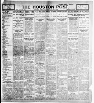 Primary view of object titled 'The Houston Post. (Houston, Tex.), Vol. 21, No. 298, Ed. 1 Sunday, January 7, 1906'.