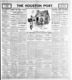 Primary view of object titled 'The Houston Post. (Houston, Tex.), Vol. 21, No. 310, Ed. 1 Friday, January 19, 1906'.