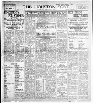 Primary view of object titled 'The Houston Post. (Houston, Tex.), Vol. 21, No. 109, Ed. 1 Sunday, July 2, 1905'.