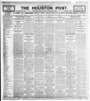Primary view of object titled 'The Houston Post. (Houston, Tex.), Vol. 21, No. 326, Ed. 1 Sunday, February 4, 1906'.