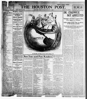Primary view of object titled 'The Houston Post. (Houston, Tex.), Vol. 20, No. 292, Ed. 1 Sunday, January 1, 1905'.