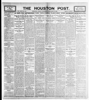 Primary view of object titled 'The Houston Post. (Houston, Tex.), Vol. 21, No. 316, Ed. 1 Thursday, January 25, 1906'.