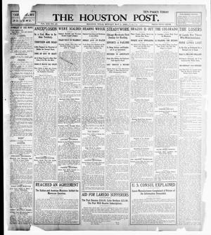 Primary view of object titled 'The Houston Post. (Houston, Tex.), Vol. 21, No. 47, Ed. 1 Monday, May 1, 1905'.