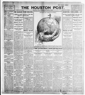 Primary view of object titled 'The Houston Post. (Houston, Tex.), Vol. 21, No. 173, Ed. 1 Monday, September 4, 1905'.