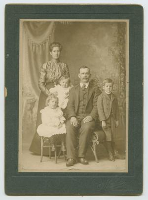 Primary view of object titled '[Portrait of a Couple with Three Children]'.