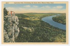 Primary view of object titled '[Postcard of Inspiration Point]'.