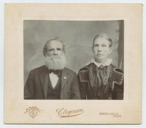 Primary view of object titled '[Portrait of a Middle Aged Couple]'.
