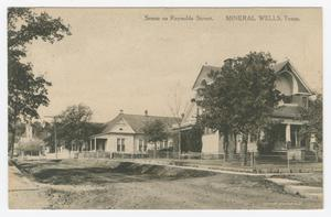 Primary view of object titled '[Postcard of Reynolds Street]'.
