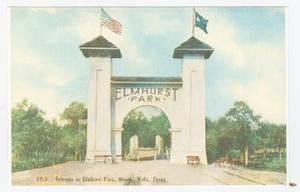 Primary view of object titled '[Picture of Elmhurst Park]'.