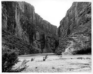 Primary view of object titled '[Santa Elena Canyon]'.