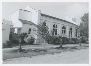 Primary view of object titled '[First Presbyterian Church of San Benito Photograph #2]'.