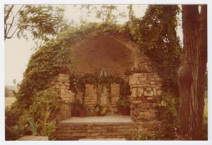 Primary view of object titled '[Grotto of Our Lady of Lourdes Photograph #4]'.