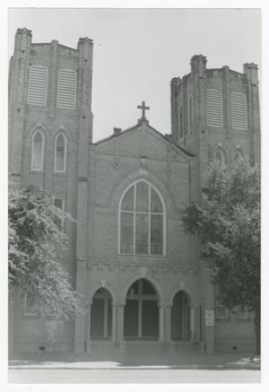 Primary view of object titled '[Sacred Heart Catholic Church Photograph #4]'.