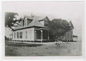 Primary view of object titled '[Lon C. Hill Home Photograph #1]'.