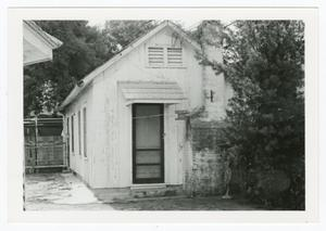 Primary view of object titled '[Webb-Martinez House Photograph #3]'.
