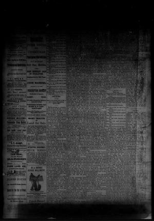 Primary view of object titled 'The Albany News. (Albany, Tex.), Vol. [1], No. [12], Ed. 1 Friday, May 16, 1884'.
