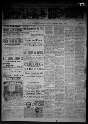 Primary view of object titled 'The Albany Weekly News (Albany, Tex.), Vol. 2, No. 19, Ed. 1 Friday, May 6, 1892'.