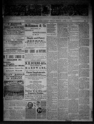Primary view of object titled 'The Albany Weekly News (Albany, Tex.), Vol. 2, No. 14, Ed. 1 Friday, April 1, 1892'.